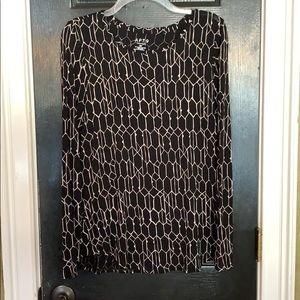 Apt. 9 tunic blouse medium